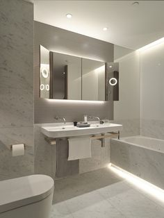 Led Lighting For Bathrooms. 6 Modern Ways To Use Led